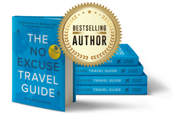 The no excuse travel guide: bestselling author